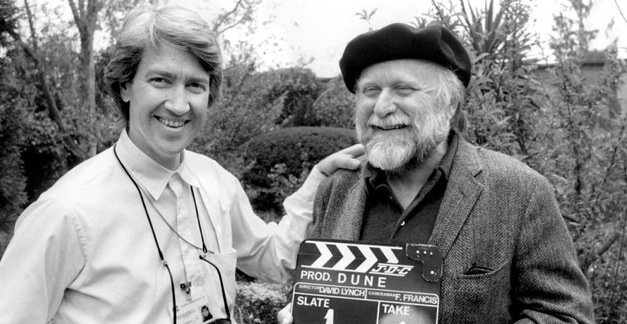 David Lynch with Dune author Frank Herbert.