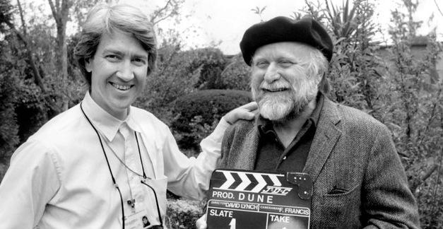 David Lynch with Dune author Frank Herbert.