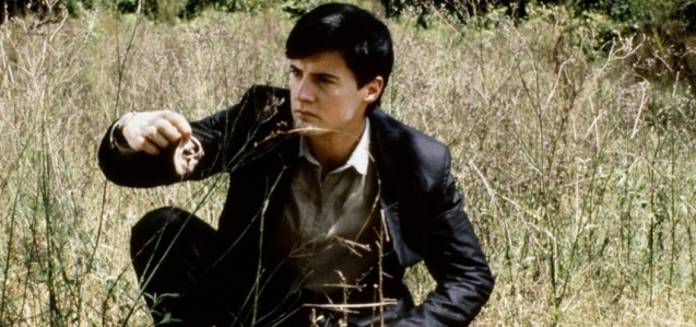 MacLachlan makes an unpleasant discovery in Blue Velvet.
