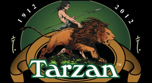The official centennial Tarzan logo