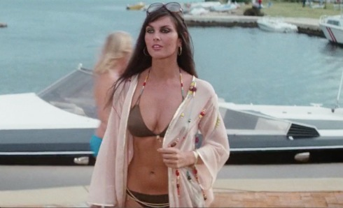 "Caroline Munro - ""Naomi"" in The Spy Who Loved Me."