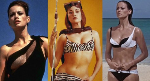 "Claudine Auger - ""Domino"" in Thunderball."