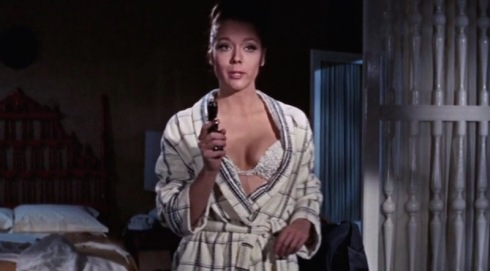 "Diana Rigg - ""Tracy di Vicenzo"" in On Her Majesty's Secret Service."